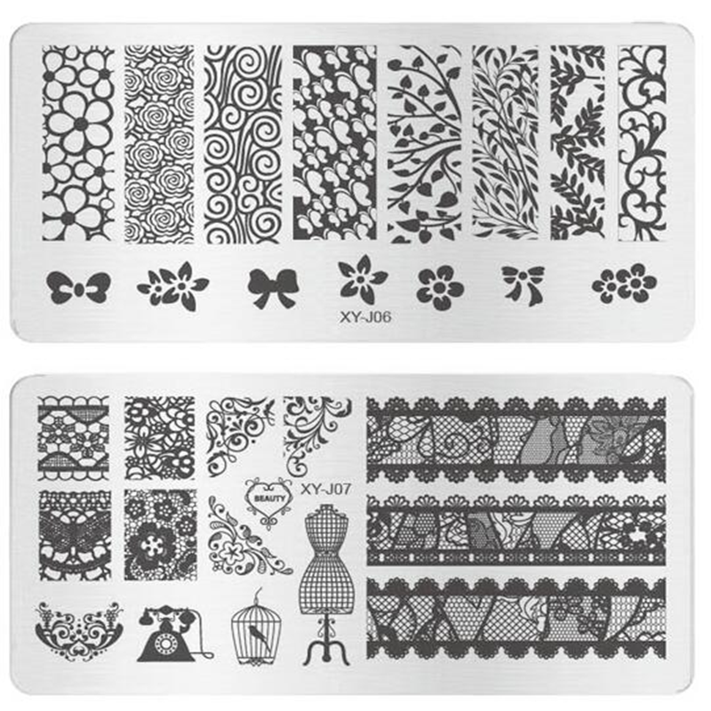 Wholesale metal plates nail art - Online Buy Best metal plates nail ...