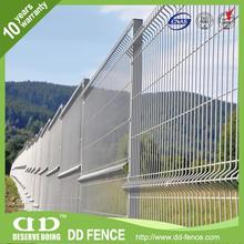 Wire Net Fence / Pvc Coated Garden Welded / Wire Mesh Metal Fence