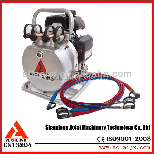 High Pressure Double Action Hydrauilc Motor Pump CZB-700AB with electric valve