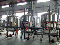 Factory produce stainless steel water treatment tanks