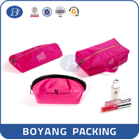 PU zipper bag cosmetic packaging pouch