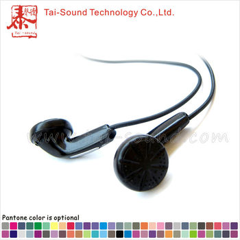 Cheap disposable earphone disposable airline air earphone