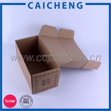 Ecofriendly glassware packaging box
