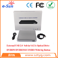 mini laptop with dvd drive Slim Slot loading External USB 2.0 DVD / CD Drive / Burner / Writer/dvd duplicator for laptop