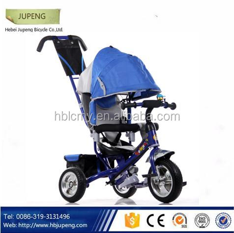 2016 baby tricycle 4 in 1 trike/child tricycleseats/cheap kids tricycle kids smart trike