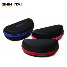 Factory sunglasses case fabric EVA