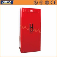 Luxury jewelery safes HEVER Custom series D-120H-RED /high end watch safe box / 1260 x 610 x 560 mm