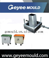 injection plastic industrial dustbin mold/Large size waste bin mould