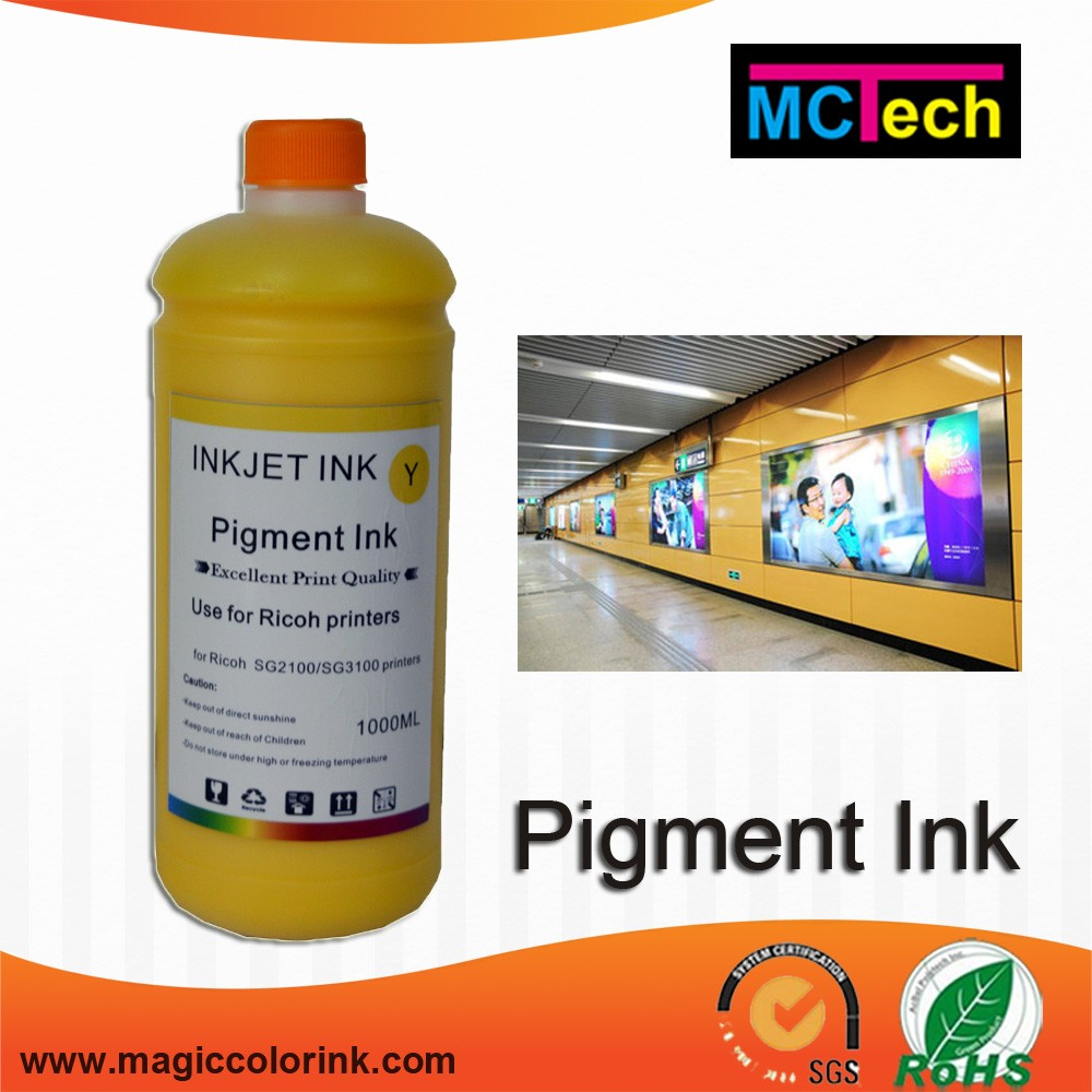 High quality wholesale pigment ink for wide wide format printer as Epson 7800/9800/4880/7880/9880/11800