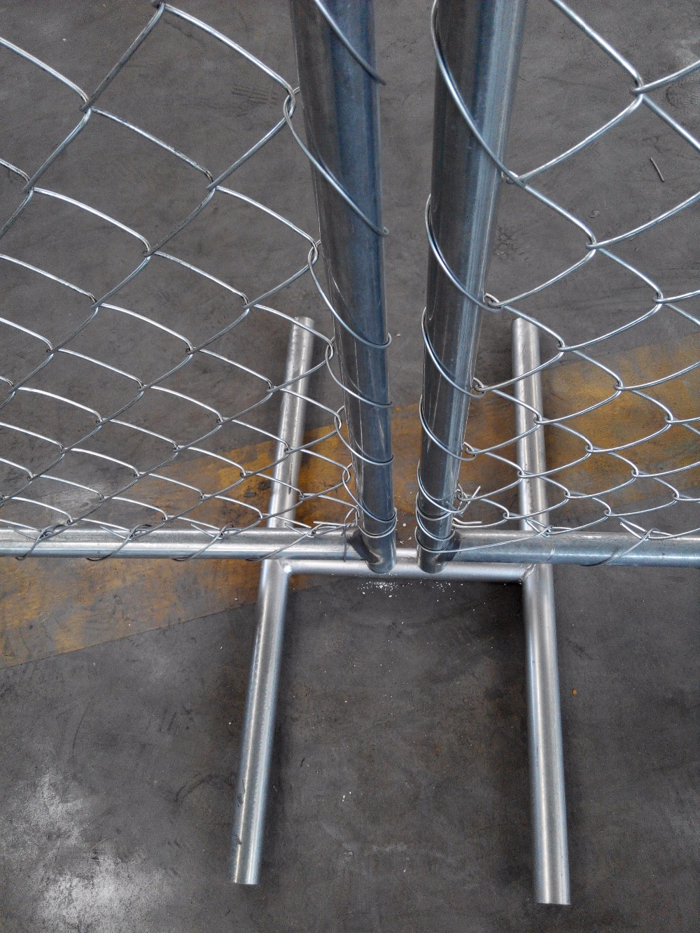 Galvanized chain link temporary fence buy