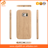 Free sample wood grain leather phone case for samsung galaxy note 3 case