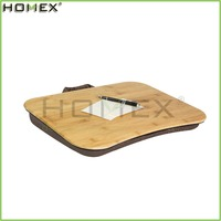 Modern Lap Table Desk for Laptop/Bamboo Laptop Tray/Homex_FSC/BSCI Factory