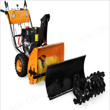 HOT selling snow sweeper walk-behind snow cleaning machine with cheappest price