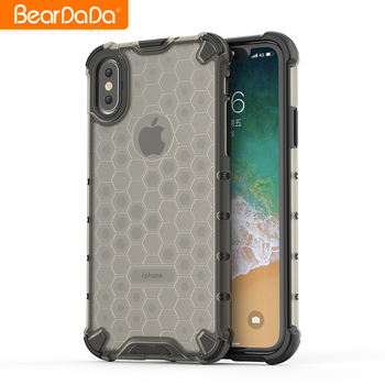 Wholesale custom  luxury sublimation shockproof transparent pc tpu cell phone case for Redmi Note 7
