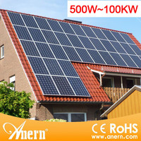 5KW off grid battery backup solar enegry saving system for home