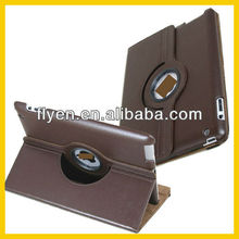 For Apple iPad 4 / 3 / 2 NEW 360 Rotation PU Leather Case Cover w Swivel Stand Wholesale Good Price