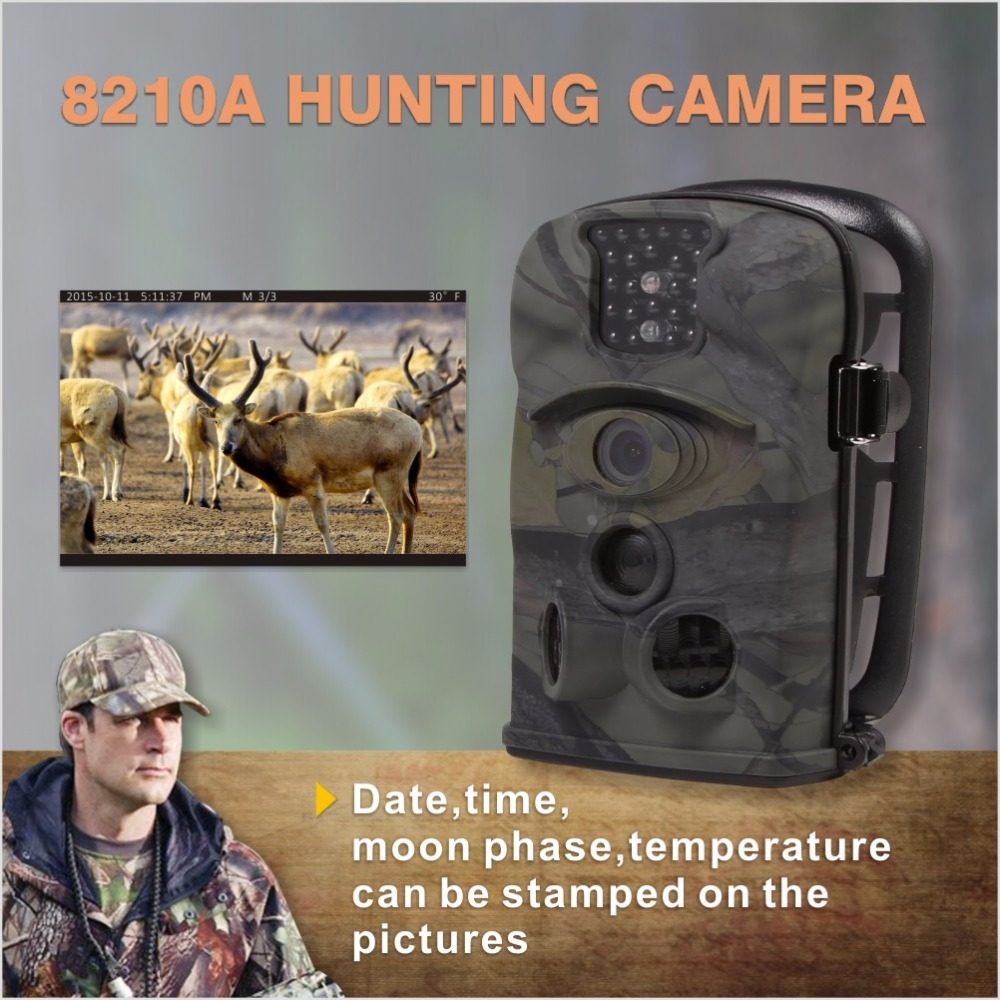 Trap Thermal Imager Used Infrared 940nm IR Mini Hunting Game Video Camera