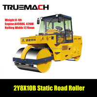2Y8X10B 8-10 ton Static Double Drum Road Roller