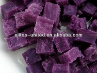 frozen purple sweet potato dice