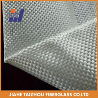 High Tensile Strength Woven Roving Fiberglass Cloth Fabric