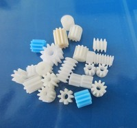 china made plastic injection industrial tool children toy accessory PA nylon diving pinion gear