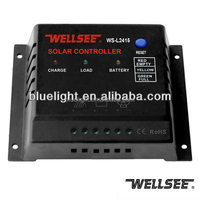 Automatic solar street light controller WS-L2415 12v/24v solar charge controller with light & timer control