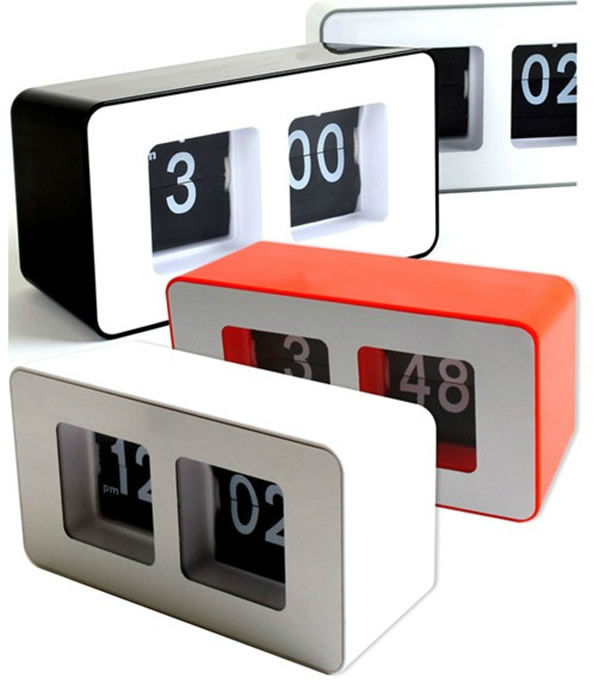 CT-259 Stylish Creative Cube Automatical Flip clock