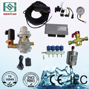 High quality china factory hot sale pneumatic gas fuel cng electric bicycle electric car conversion kit