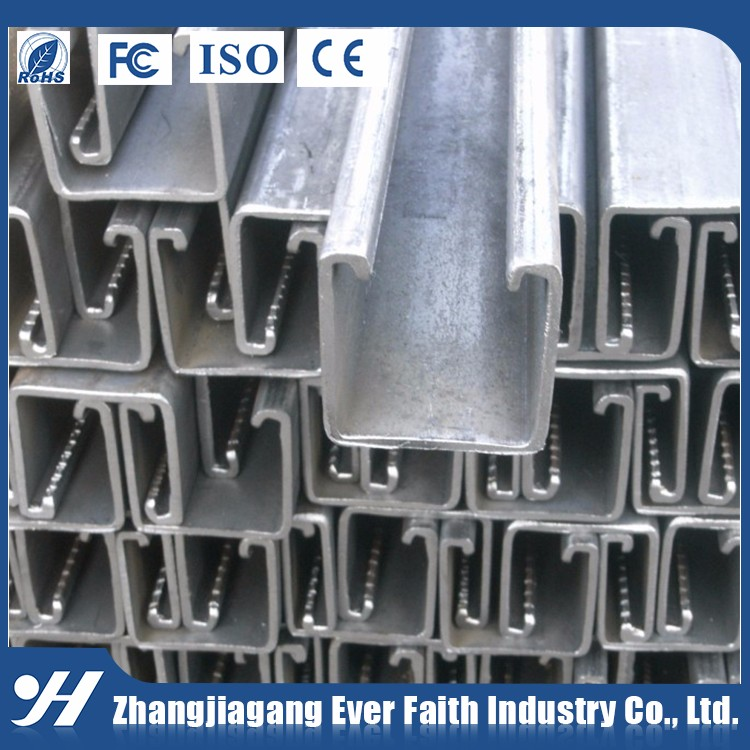 Building Materials Wholesale Galvanized C Channel Dimensions