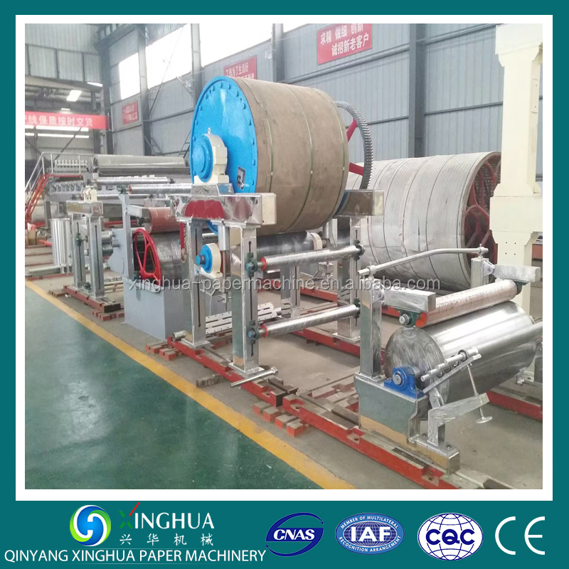 1880mm Good Quality Paper Product Making Machinery Toilet Kitchen Towel Paper Machine