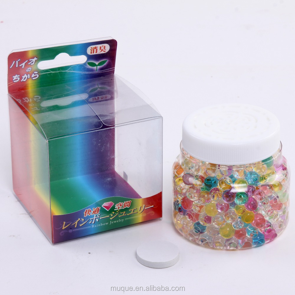 shamood 80g colorful crystal air freshener beads with bargain price