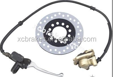hydraulic disc brake assembly for ATV