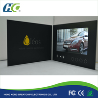 Digital greeting card photo frame / Advertising greeting card and brochure