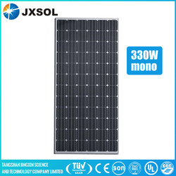 High efficiency price per watt solar panel free shipping 330w mono at factory price