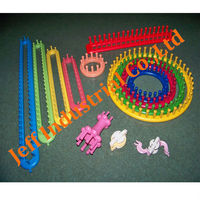 100% New Plastic Material Various Sizes Long Type Hand Knitting Loom Set