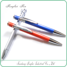 Promotional Custom Logo Multicolor Cheap Anodizing Aluminium Pen