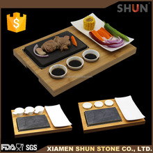 Granite cooking stone sets,stoneware cooking sets,hot stone grill cooking set