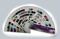 2k Acrylic Solid Auto Body Paint, Color chart, Car Spray Paint