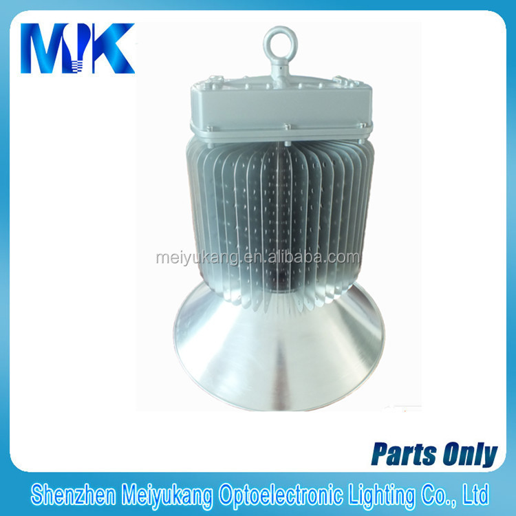 Copper plate welding aluminum tube heat sink high bay light, 400 watt high bay fixtures, cooling fins design heat sink