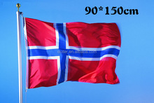 High quality and cheap price Norway flag 100% polyester Norway flag