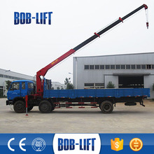mini truck mounted crane used cargo crane dump truck for sale in dubai