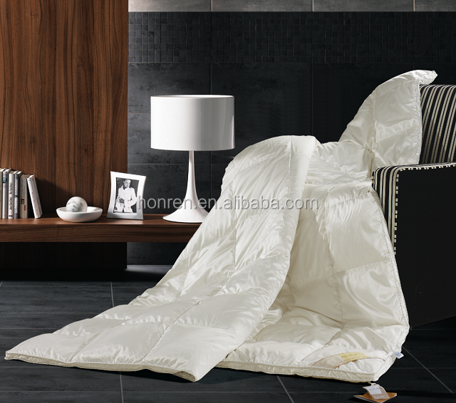 600 fill power 2018 new style goose duck down comforter with RDS DOWNPASS