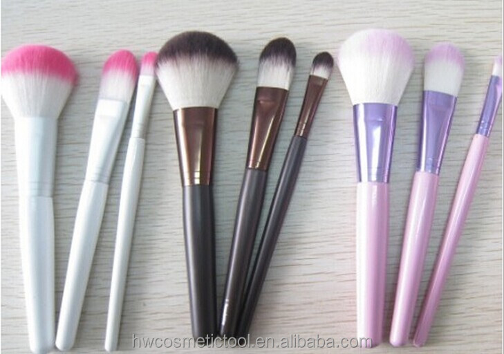 3pcs synthetic makeup brush