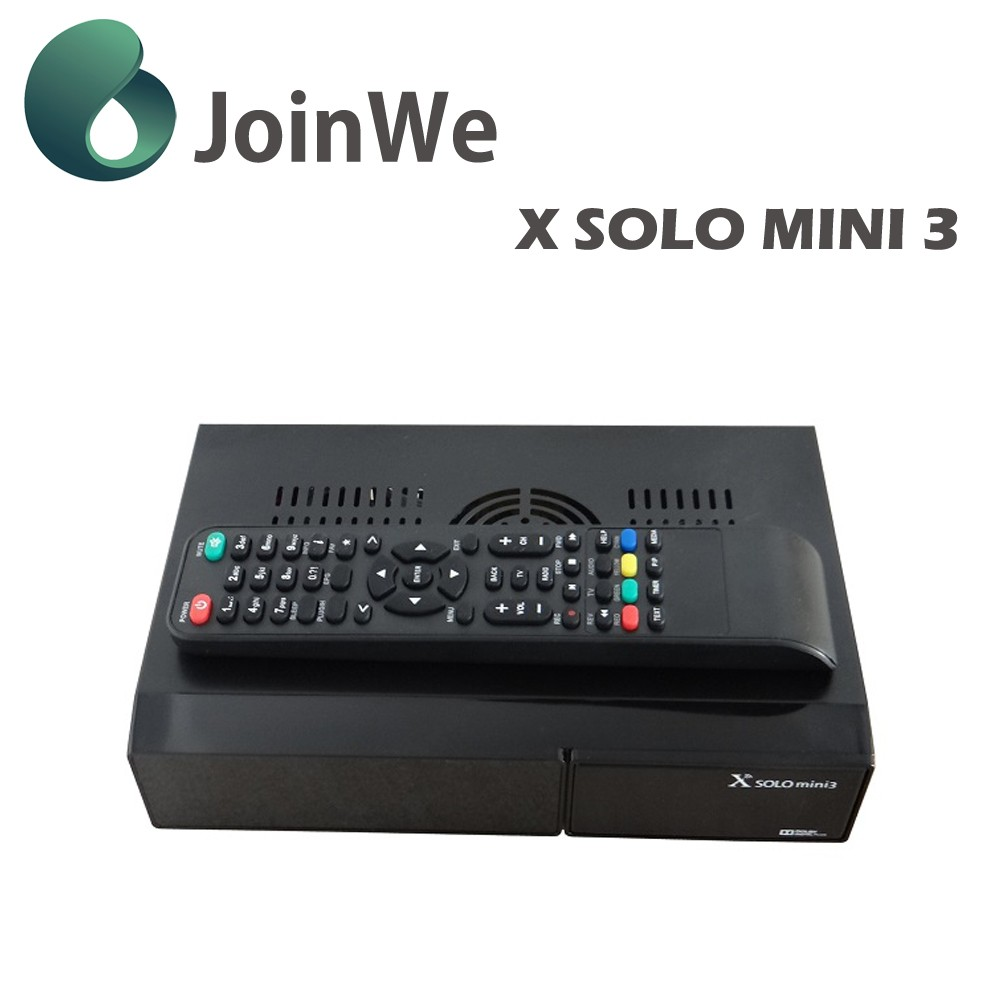 DVB-S2,DVB-C/T2 twin tuner Enigma 2 satellite receiver For Italy with smart card reader Linux OS Satellite tv box x solo mini3