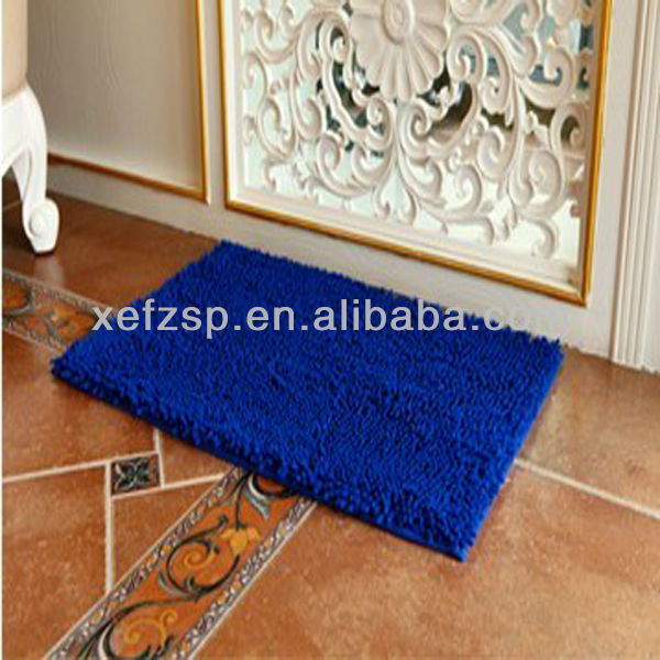 soft and comfortble microfiber chenille dog show mats