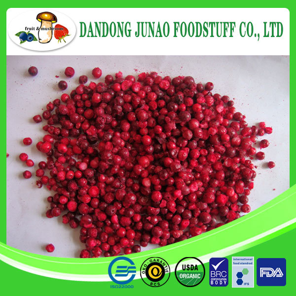 fruits and vegetables Freeze dried berries lingonberry