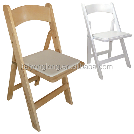 Hotel furniture folding wooden camping chair/outdoor folding chair
