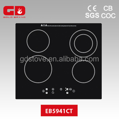Alibaba hot sale electric stoves gold brand factory 220V electric induction ceramic cooker