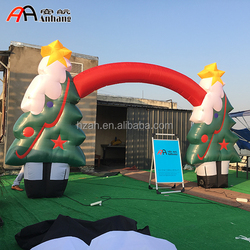 Christmas Inflatable Tree Arch Party Decoration Arch
