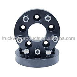 Black anodization wheel adapters &wheel spacers